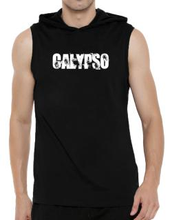 Calypso - Simple Hooded Sleeveless T-Shirt - Mens