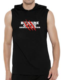Beware Of The Andean Condor Hooded Sleeveless T-Shirt - Mens