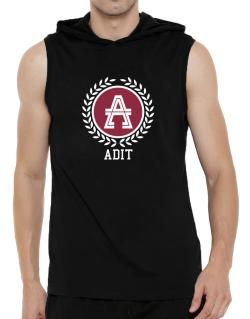 Adit - Laurel Hooded Sleeveless T-Shirt - Mens