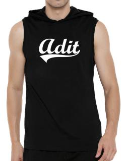 Adit Hooded Sleeveless T-Shirt - Mens