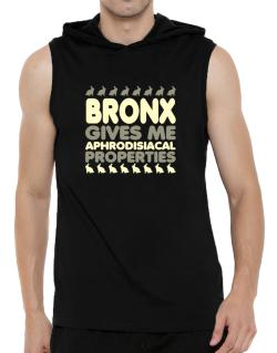 Bronx Gives Me Aphrodisiacal Properties Hooded Sleeveless T-Shirt - Mens