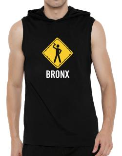 Bronx Hooded Sleeveless T-Shirt - Mens