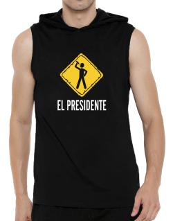El Presidente Hooded Sleeveless T-Shirt - Mens
