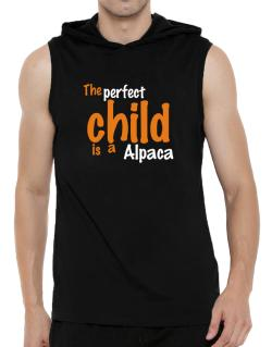 The Perfect Child Is An Alpaca Hooded Sleeveless T-Shirt - Mens