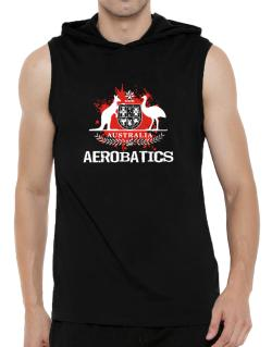 Australia Aerobatics / Blood Hooded Sleeveless T-Shirt - Mens