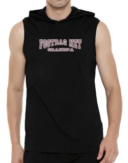 Footbag Net Grandpa Hooded Sleeveless T-Shirt - Mens