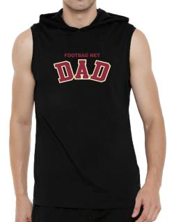 Footbag Net Dad Hooded Sleeveless T-Shirt - Mens