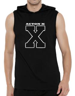 Acton X Hooded Sleeveless T-Shirt - Mens