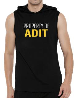 Property Of Adit Hooded Sleeveless T-Shirt - Mens