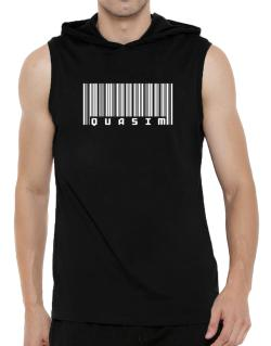 Bar Code Quasim Hooded Sleeveless T-Shirt - Mens