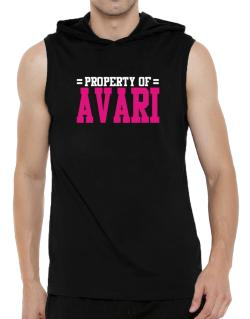 Property Of Avari Hooded Sleeveless T-Shirt - Mens