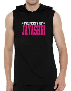 Property Of Jayashri Hooded Sleeveless T-Shirt - Mens