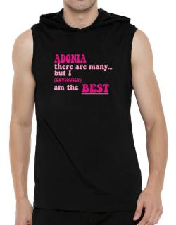 Adonia There Are Many... But I (obviously!) Am The Best Hooded Sleeveless T-Shirt - Mens