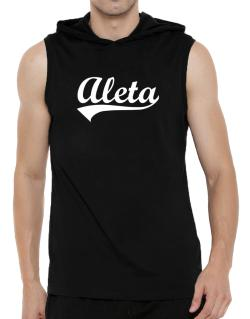 Aleta Hooded Sleeveless T-Shirt - Mens