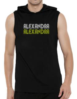 Alexandra Hooded Sleeveless T-Shirt - Mens