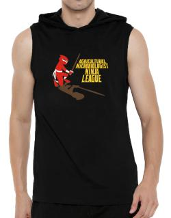 Agricultural Microbiologist Ninja League Hooded Sleeveless T-Shirt - Mens
