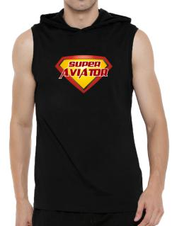 Super Aviator Hooded Sleeveless T-Shirt - Mens