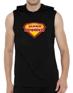Super Ironworker Hooded Sleeveless T-Shirt - Mens