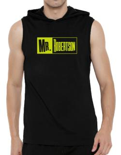 Mr. Robertson Hooded Sleeveless T-Shirt - Mens