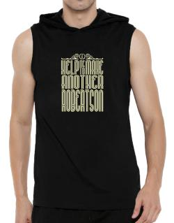 Help Me To Make Another Robertson Hooded Sleeveless T-Shirt - Mens