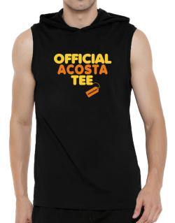 Official Acosta Tee - Original Hooded Sleeveless T-Shirt - Mens