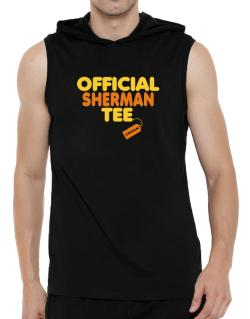 Official Sherman Tee - Original Hooded Sleeveless T-Shirt - Mens