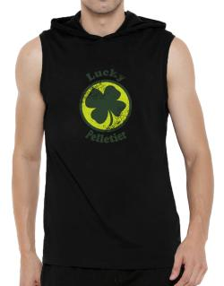 Lucky Pelletier Hooded Sleeveless T-Shirt - Mens