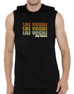 Las Vegas State Hooded Sleeveless T-Shirt - Mens