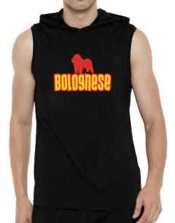 Breed Color Bolognese Hooded Sleeveless T-Shirt - Mens