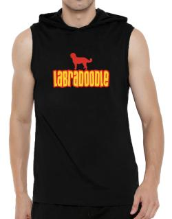 Breed Color Labradoodle Hooded Sleeveless T-Shirt - Mens