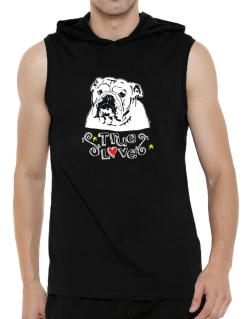 American Bulldog True Love Hooded Sleeveless T-Shirt - Mens