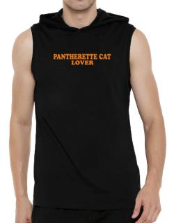 Pantherette Lover Hooded Sleeveless T-Shirt - Mens