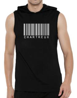 Chartreux Barcode Hooded Sleeveless T-Shirt - Mens