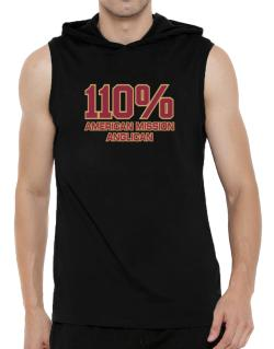 110% American Mission Anglican Hooded Sleeveless T-Shirt - Mens