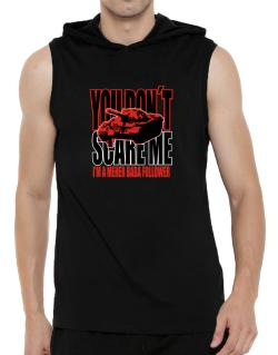 Dont Scare Me Hooded Sleeveless T-Shirt - Mens