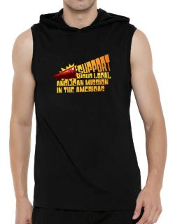Support Your Local Anglican Mission In The Americas Hooded Sleeveless T-Shirt - Mens