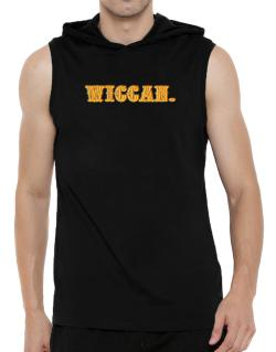Wiccan. Hooded Sleeveless T-Shirt - Mens