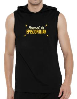 Powered By Episcopalian Hooded Sleeveless T-Shirt - Mens