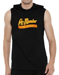 Hy Member For A Reason Hooded Sleeveless T-Shirt - Mens