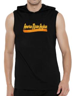 American Mission Anglican For A Reason Hooded Sleeveless T-Shirt - Mens