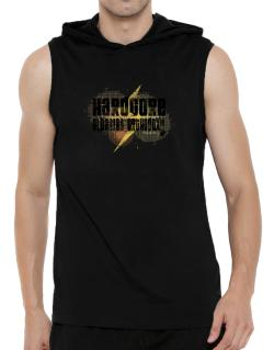 Hardcore Albanian Orthodoxy Hooded Sleeveless T-Shirt - Mens