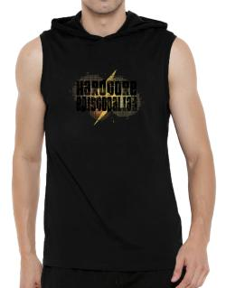 Hardcore Episcopalian Hooded Sleeveless T-Shirt - Mens