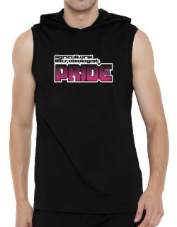 Agricultural Microbiologist Pride Hooded Sleeveless T-Shirt - Mens