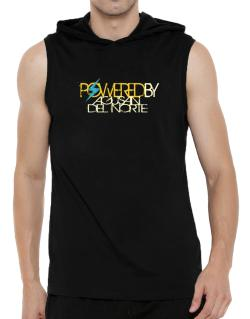Powered By Agusan Del Norte Hooded Sleeveless T-Shirt - Mens