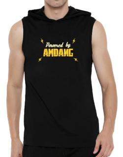 Powered By Amdang Hooded Sleeveless T-Shirt - Mens