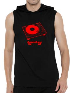 Retro Gombay - Music Hooded Sleeveless T-Shirt - Mens