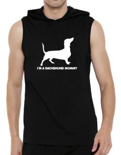 Dachshund mommy Hooded Sleeveless T-Shirt - Mens