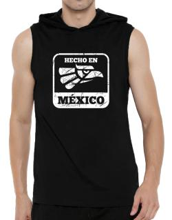 Hecho en Mexico Hooded Sleeveless T-Shirt - Mens