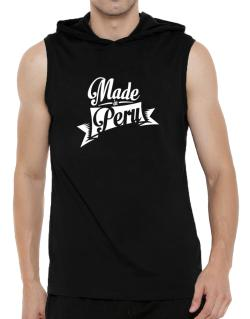 Made in Peru Hooded Sleeveless T-Shirt - Mens