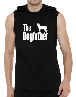The dogfather Broholmer Hooded Sleeveless T-Shirt - Mens